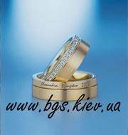 Обручальные кольца. Ювелирные изделия Киев